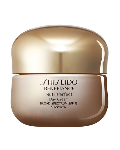 Shiseido Benefiance NutriPerfect Day Cream SPF 18, 1.7