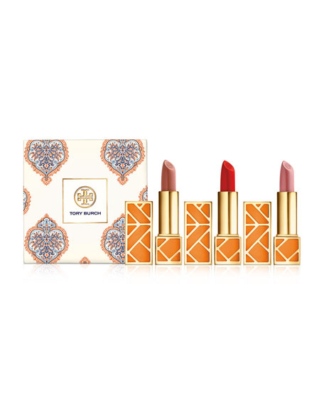 Tory Burch Tory Burch Lip Trio ($96 Value)