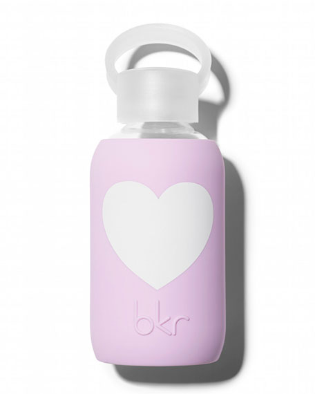 bkr Glass Water Bottle, Juliet Heart, 250 mL | Neiman Marcus