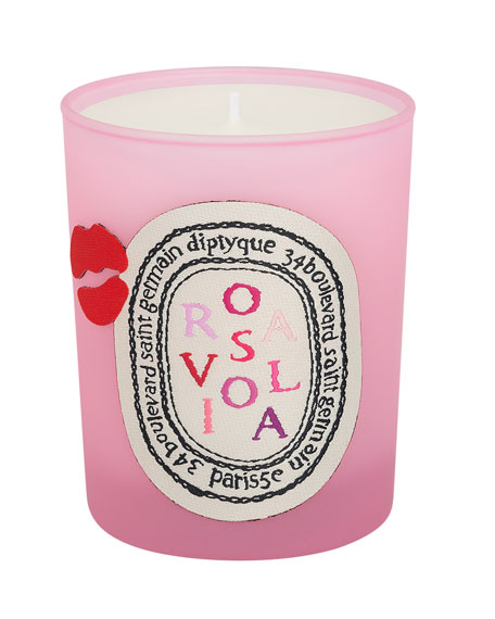 Rosaviola Scented Candle, 190g