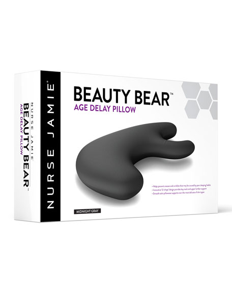 Beauty Bear™ Age Delay Pillow, Midnight Gray
