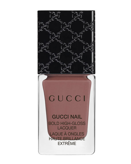 Limited Edition Gucci Bold High-Gloss Nail Lacquer - Spring/Summer Color Collection