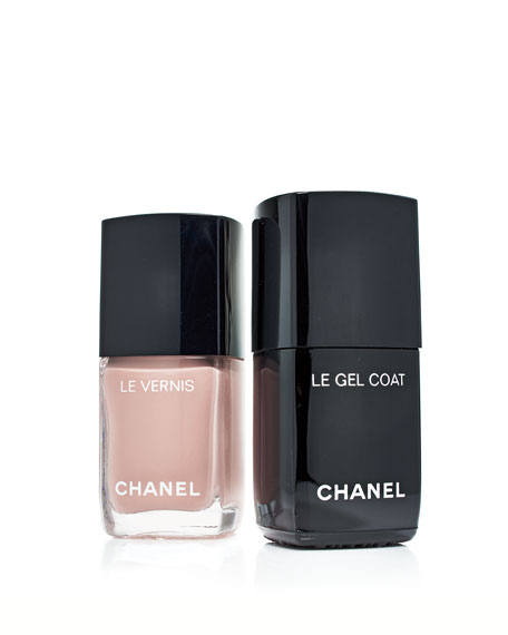 CHANEL <B>LE GEL COAT </b><BR>Longwear Top Coat
