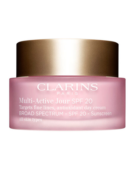 Clarins Multi-Active Day Cream Broad Spectrum SPF 20, 1.7 oz.
