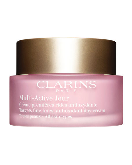 Clarins Multi-Active Day Cream - All Skin Types, 1.6 oz.