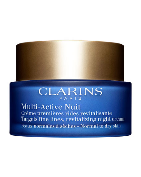 Clarins Multi-Active Night Cream, Normal to Combination Skin, 1.6 oz.