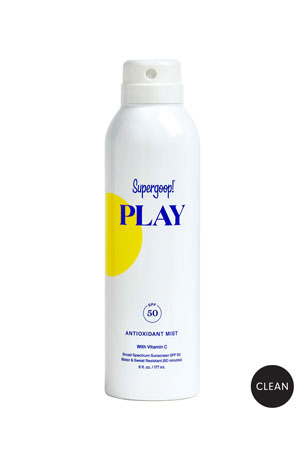 Supergoop! 6 oz. PLAY Antioxidant Body Mist SPF 50 with Vitamin C