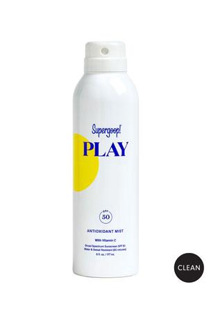 Supergoop! 6 oz. PLAY Antioxidant Body Mist SPF 50 with Vitamin C