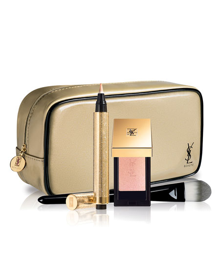 Yves Saint Laurent Beaute Gold Light Strobing Set