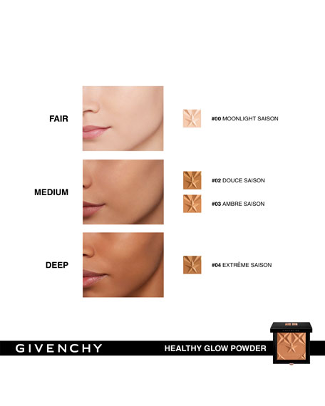 Givenchy Les Saisons Healthy Glow Bronzing Powders