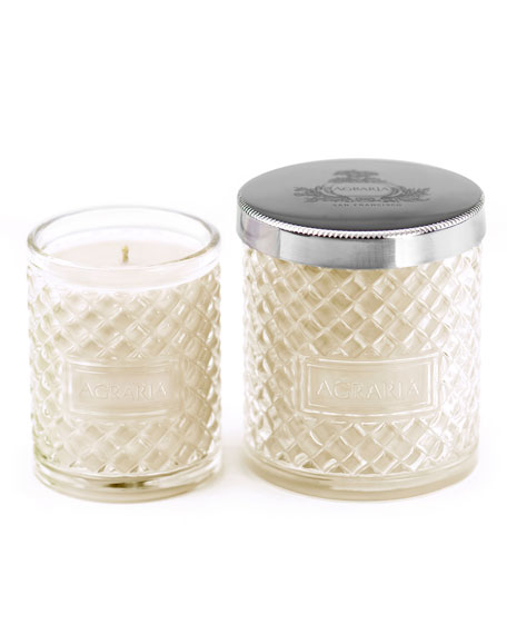 Agraria Jasmine Candle, 7 oz. & Complimentary Petite Candle, 3.4 oz. (A ...