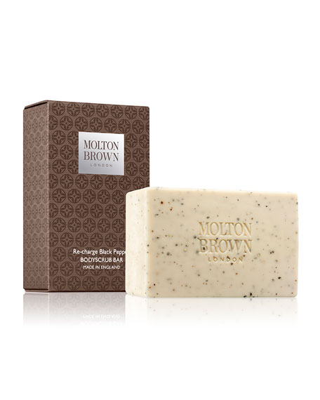 Molton Brown Re-charge Black Pepper Body Scrub Bar,