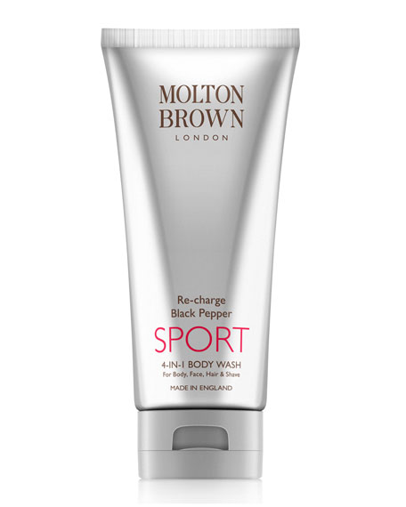 Molton Brown Re-charge Black Pepper Sport 4-in-1 Body Wash, 6.6 oz.