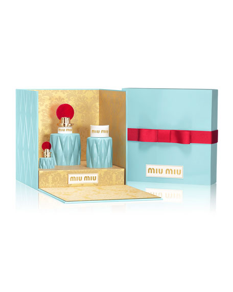 Miu Miu Holiday Fragrance Boxed Gift Set ($166