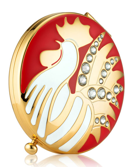 Image 1 of 2: Limited Edition Year Of The Rooster Powder Compact