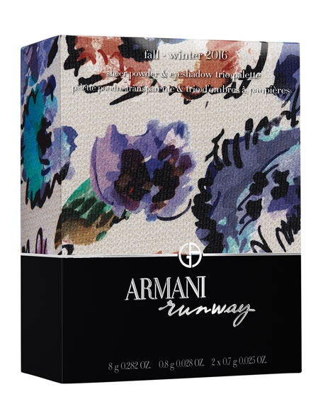 Fall Winter Armani Runway Collection Palette