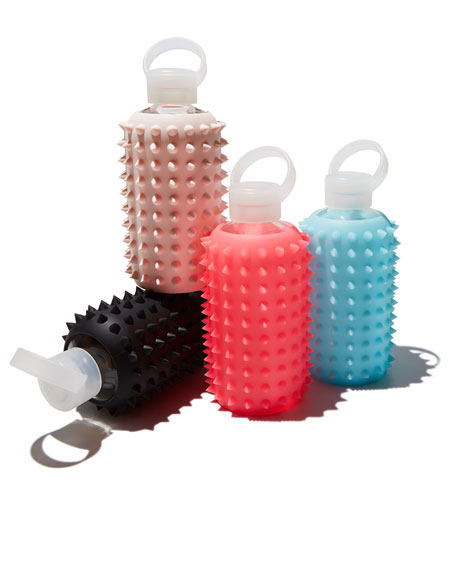 Glass Water Bottle, Spiked Tutu, 500 mL