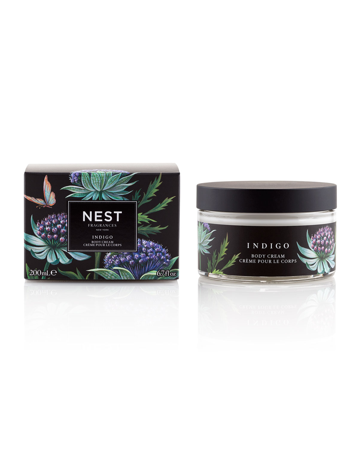 Nest Fragrances Indigo Body Cream, 6.7 oz./ 200 mL
