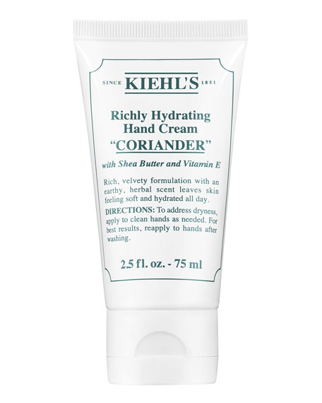Coriander Scented Hand Cream, 75 mL