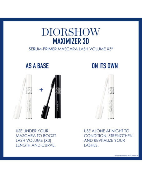Image 3 of 3: Diorshow Iconic Overcurl Waterproof Spectacular Volume & Curl Professional Mascara