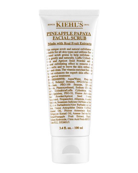 Kiehl's Since 1851 Pineapple Papaya Facial Scrub, 3.4 fl. oz.