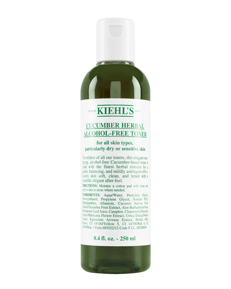 Cucumber Herbal Alcohol-Free Toner, 8.4 oz.