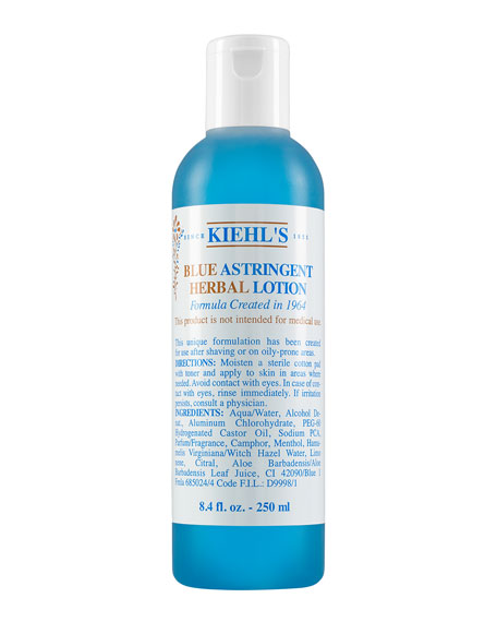 Kiehl's Since 1851 Blue Astringent Herbal Lotion, 8.4oz