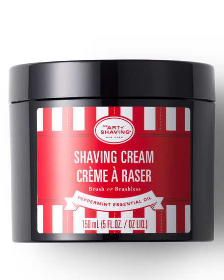 The Art of Shaving Peppermint Shaving Cream, 5 oz./ 150 mL
