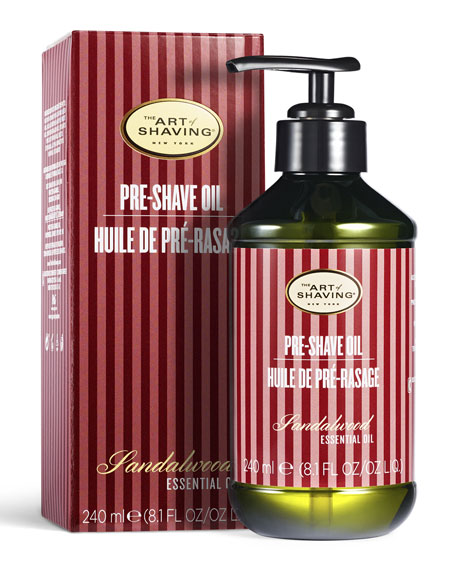 The Art of Shaving The Sandalwood Pre-Shave Oil, 8.1 oz./ 240 mL