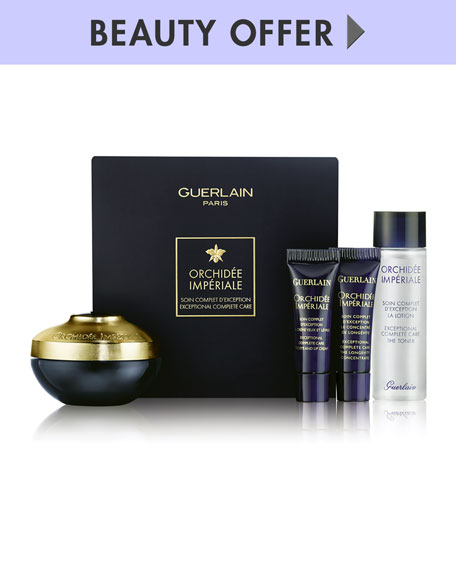 Receive a free 4-piece bonus gift with your $300 Guerlain purchase