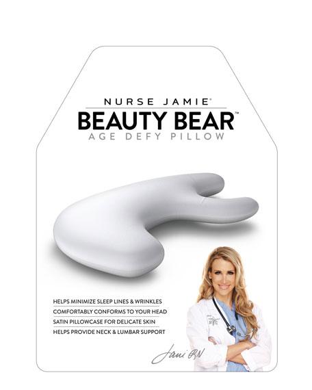 Nurse Jamie Beauty Bear™ Age Delay Pillow - White