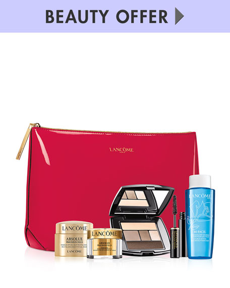 Yours with any $100 Lancôme purchase—Online only*