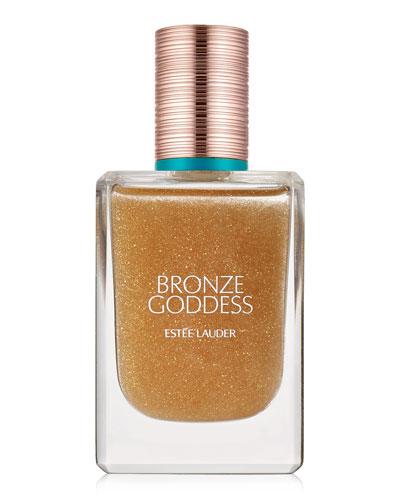 Bronze Goddess Shimmering Oil Spray for Hair and Body  1.7 oz.