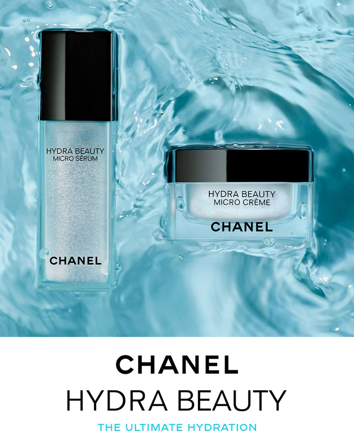 Chanel B Hydra Beauty Micro Crème B Br Fortifying Replenishing Hydration Neiman Marcus