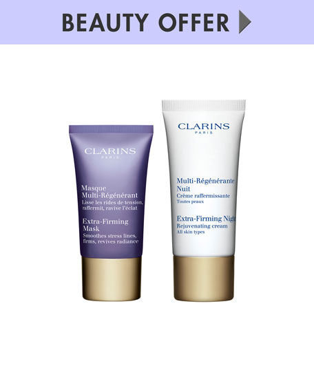 Receive a free 3-piece bonus gift with your $85 Clarins purchase