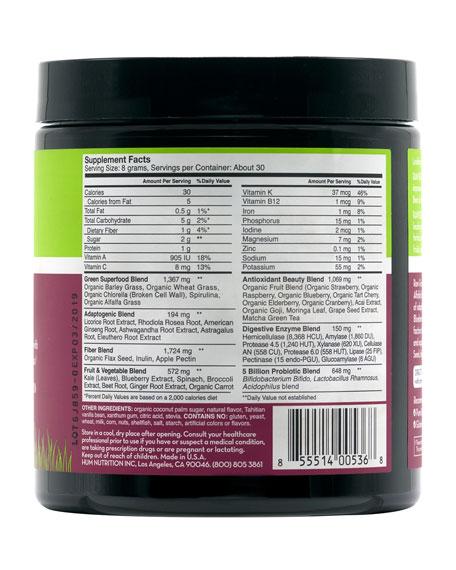 Raw Beauty™ Powder – Tahitian Vanilla & Berry Infusion