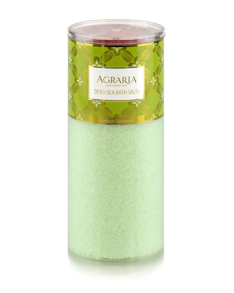 Agraria Lemon Verbena Bath Salt Tower, 16 oz./