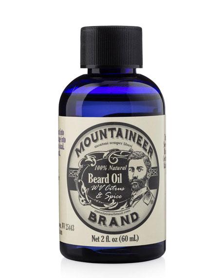 Beard Oil - Citrus & Spice, 2.0 oz./ 59 mL