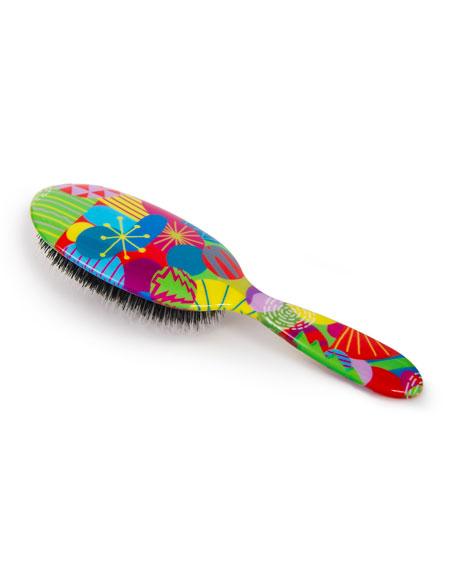 Rock & Ruddle Holiday Pattern Hair Brush
