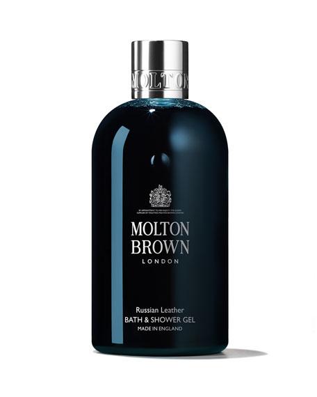 Molton Brown Russian Leather Bath & Shower Gel, 10 oz./ 300 mL