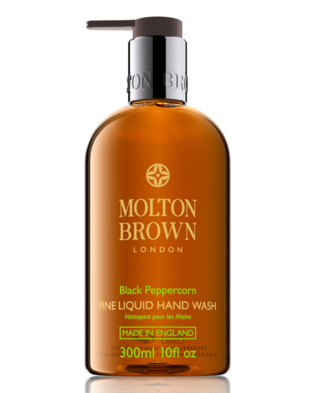 Molton Brown Black Peppercorn Fine Liquid Hand Wash, 10 oz./ 300 mL