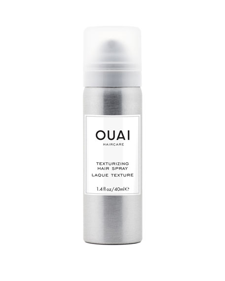OUAI Haircare Texturizing Hair Spray Travel-Size, 1.4 oz./