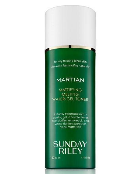 Sunday Riley Modern Skincare Martian Mattifying Melting Water-Gel Toner, 4.4 oz./ 130 mL