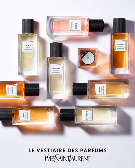 Image 5 of 5: Yves Saint Laurent Beaute 2.5 oz. Exclusive LE VESTIAIRE DES PARFUMS Saharienne Eau de Parfum