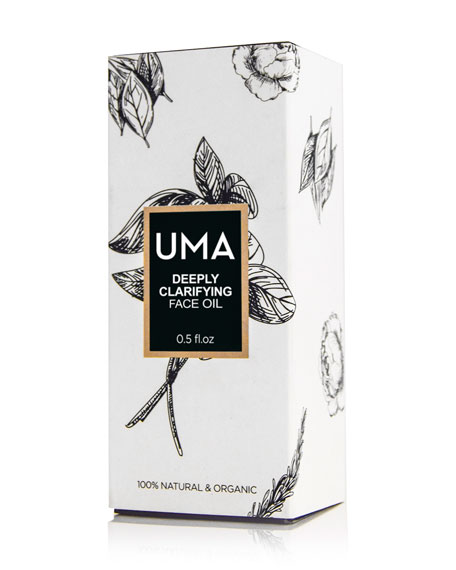 UMA Oils Deeply Clarifying Face Oil, 0.5 oz./ 15 mL