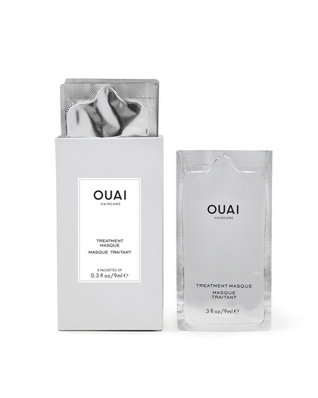 OUAI Haircare Treatment Masque, 8 Pack
