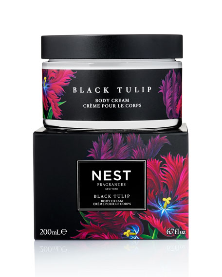 Black Tulip Body Cream, 6.7 oz./ 200 mL