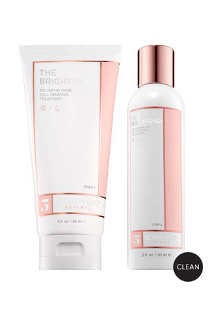 BeautyBio 2 x 2.0 oz. THE BRIGHTENER Two-Part Cell Renewal Treatment