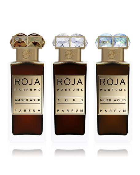 Roja Parfums Aoud Parfum de Voyage, 3x 1.0