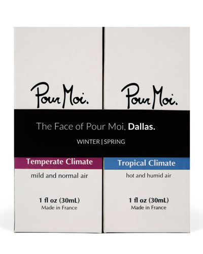 The Face of Pour Moi, Dallas, 2 x 1.0 oz./ 30 mL